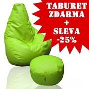 Sedací vak Beanbag 90 KamPet Comfort ekokůže