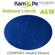 Sedací vak Beanbag 110 KamPet Comfort barva AL15 modrá žíhaná