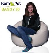 Sedací vak Baggy 90 KamPet Comfort ekokůže