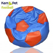 Sedací vak KamPet Football 90 COMFORT modročervený