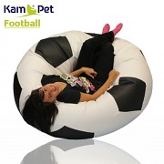 Sedací vak KamPet fotbalový míč 110
