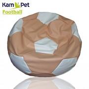 Sedací vak KamPet Football 110 COMFORT lososovobílý