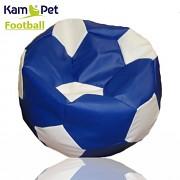 Sedací vak KamPet Football 110 COMFORT modrobílý