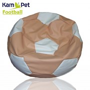 Sedací vak KamPet Football 150 COMFORT lososovobílý