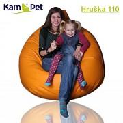 Sedací vak Hruška 110 KamPet Comfort  největší vak hruška v Evropě!!