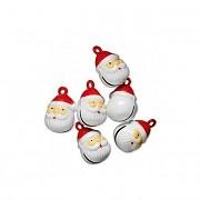 Rolnička santa  vánoční ozdoba dekorace,  á 1ks