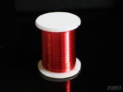 Červený bižuterní drát 0,3mm snadno tvarovatelný drát, cívka 10m