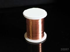 Měděný bižuterní drát 0,3mm snadno tvarovatelný drát, cívka 10m