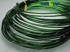 Zelený bižuterní drát hliníkový drát 1,5mm