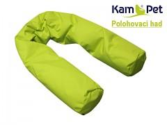 Perličkový polohovací had 3,5m KamPet tkanina
