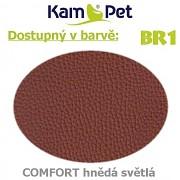 Polohovací had 2m KamPet Comfort barva BR1 sv.hnědá