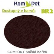 Polohovací had 2m KamPet Comfort barva BR2 tm.hnědá