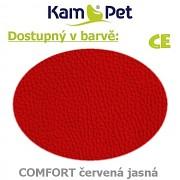 Polohovací had 2m KamPet Comfort barva CE červená jasná