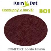 Polohovací had á 10cm KamPet Comfort barva BO1 tm.bordó