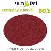 Polohovací had á 10cm KamPet Comfort barva BO2 sv.bordó