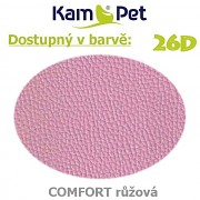 Polohovací had á 10cm KamPet Comfort barva 26D růžová