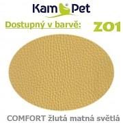 Polohovací had á 10cm KamPet Comfort barva ZO1 žlutá sv.matná