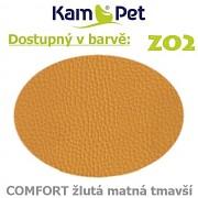 Polohovací had á 10cm KamPet Comfort barva ZO2 žlutá tm.matná