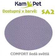 Polohovací had á 10cm KamPet Comfort barva SA2 sv.šedá